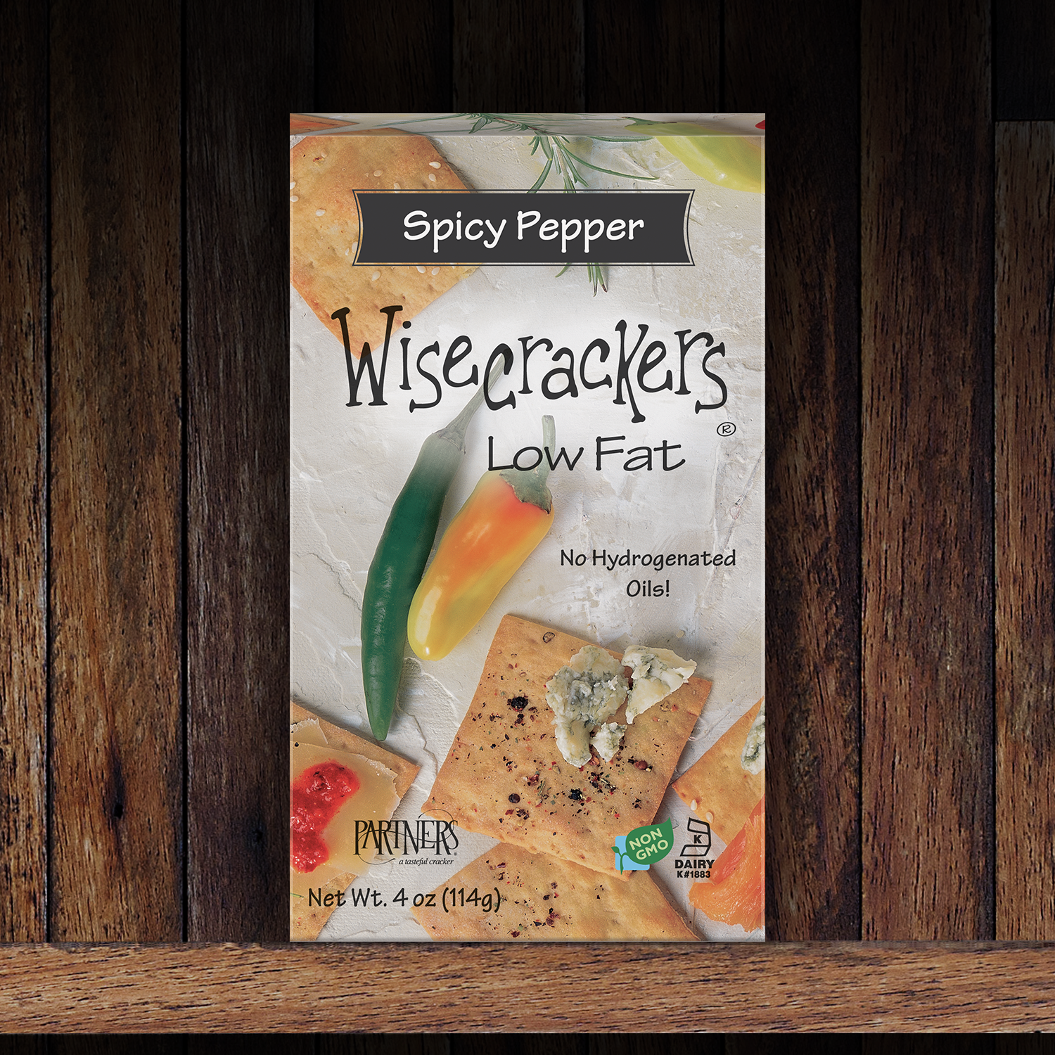 Snack Crackers : Spicy Pepper