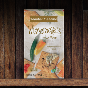 Snack Crackers : Toasted Sesame