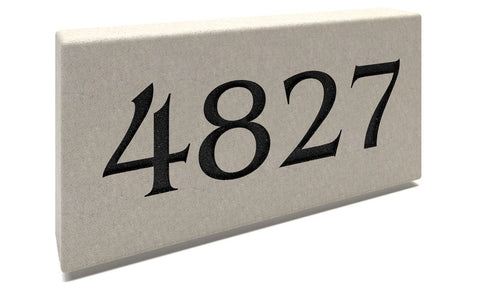 Personalized Stone Address Plaques