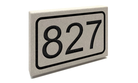 Slate Address Markers