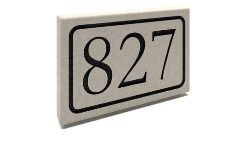 Stone Address Marker