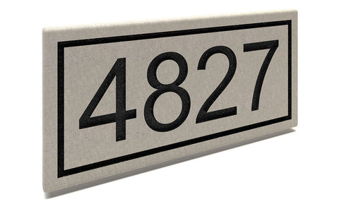 Customized Stone House Numbers