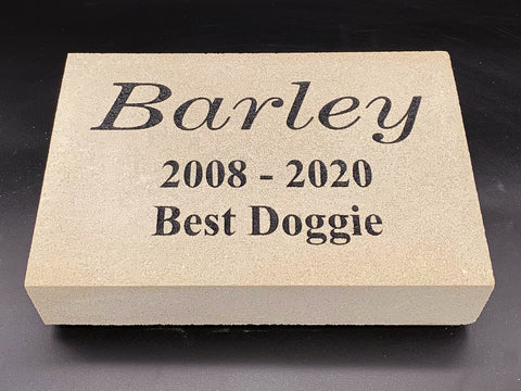 Personalized Pet Memorial Stones
