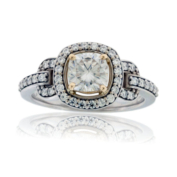 Complete Moissanite Rings