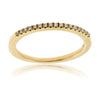 Yellow Gold and Diamond Anniversary Band