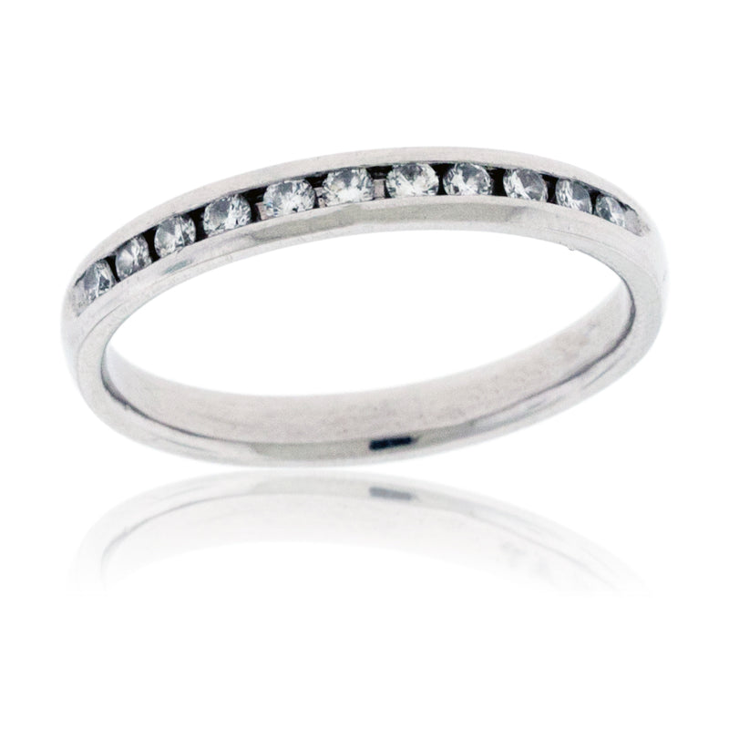 Platinum and Diamond Anniversary Band