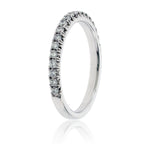 Diamond Stacking Micropave Band