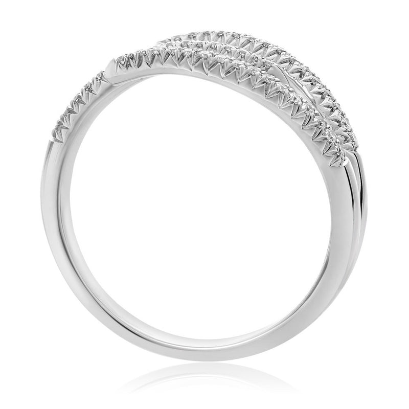Staggered Diamond Ring