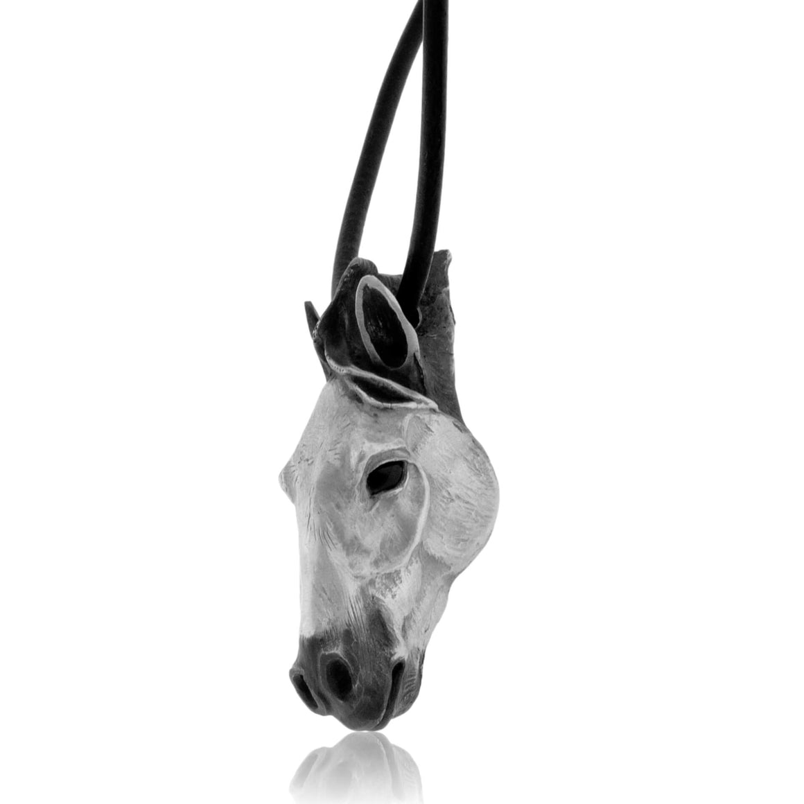 Caballo Paint Horse on Leather Cord