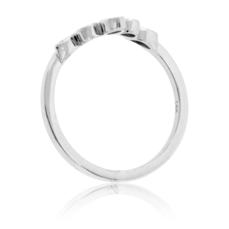 Diamond Tracer Style Ring