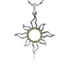 Large Sunburst Outline Pendant