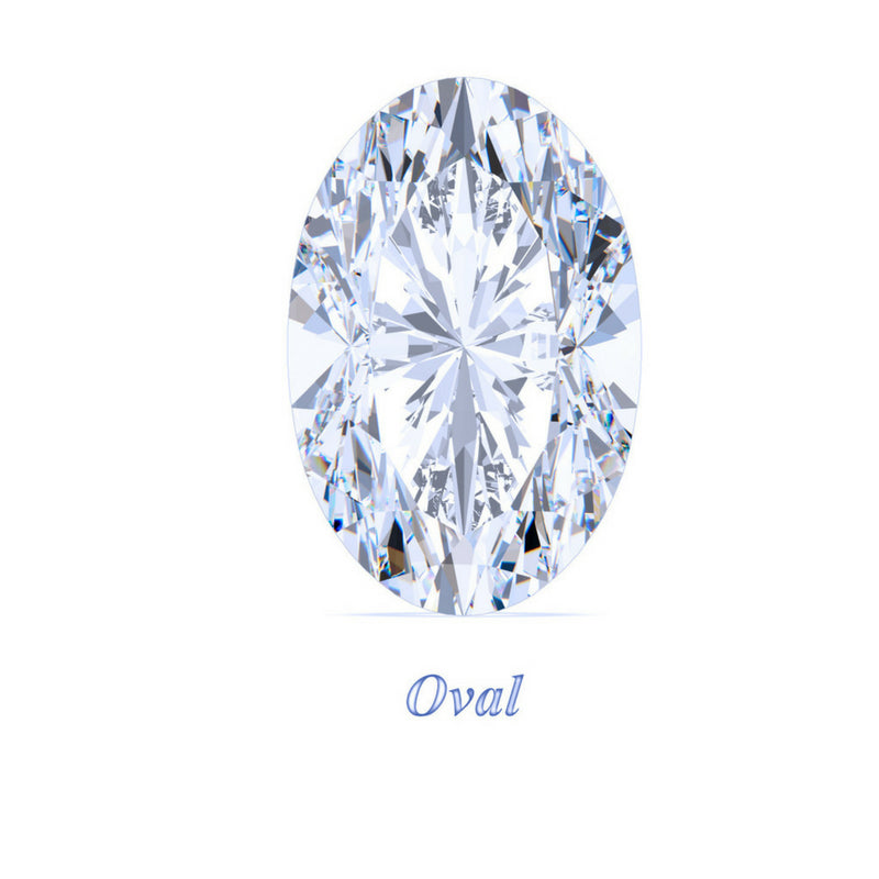 Oval Cut Moissanite Loose Stones