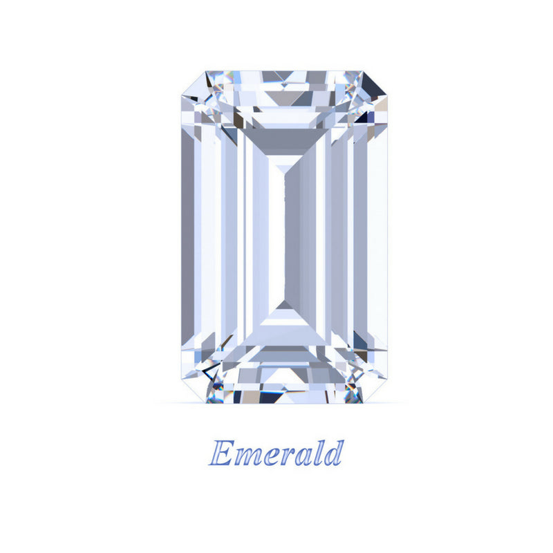 Emerald Cut Moissanite Loose Stones