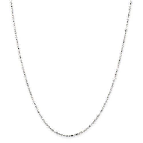 Sterling Silver Ball Bar Chain