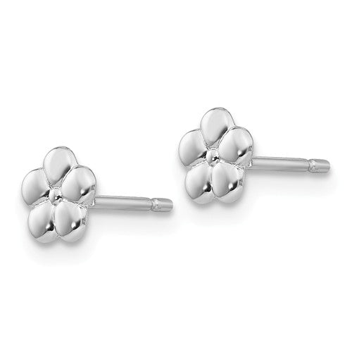 Small Flower Post Stud Earrings