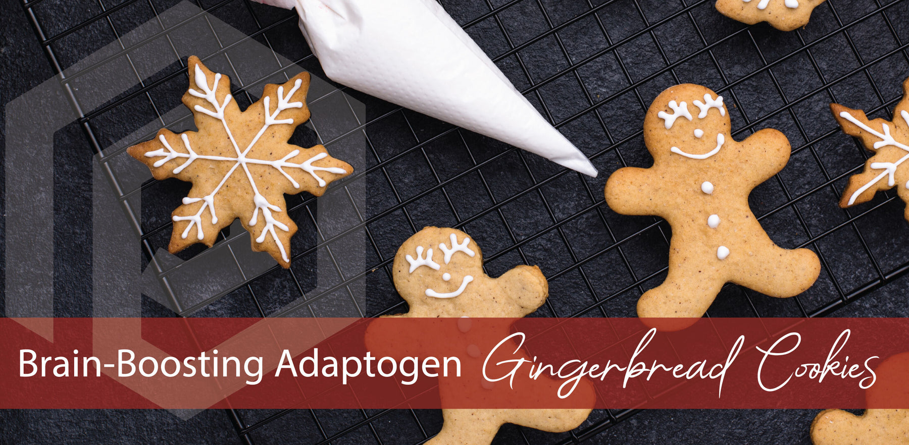 Brain-Boosting Adaptogen Gingerbread Cookies