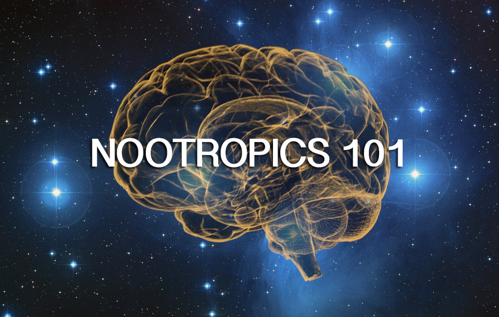 Nootropics 101 - Part 1: Everything You Wanted to Know About Brain Enhancers