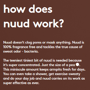 How does Nuud work