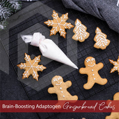 OPTMZ Brain Boosting Adaptogen Gingerbread Cookies