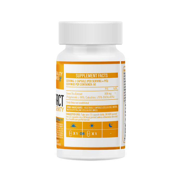 NeuroActive  Green Tea Extract Back