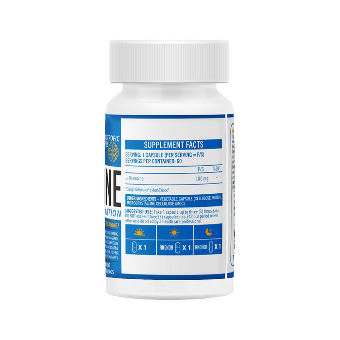 NeuroActive L-Theanine Back