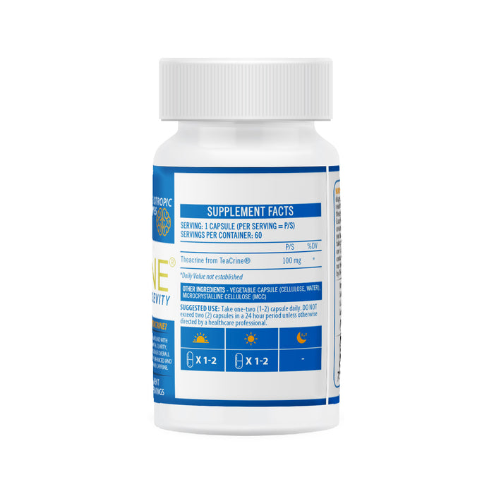 NeuroActive TeaCrine Back