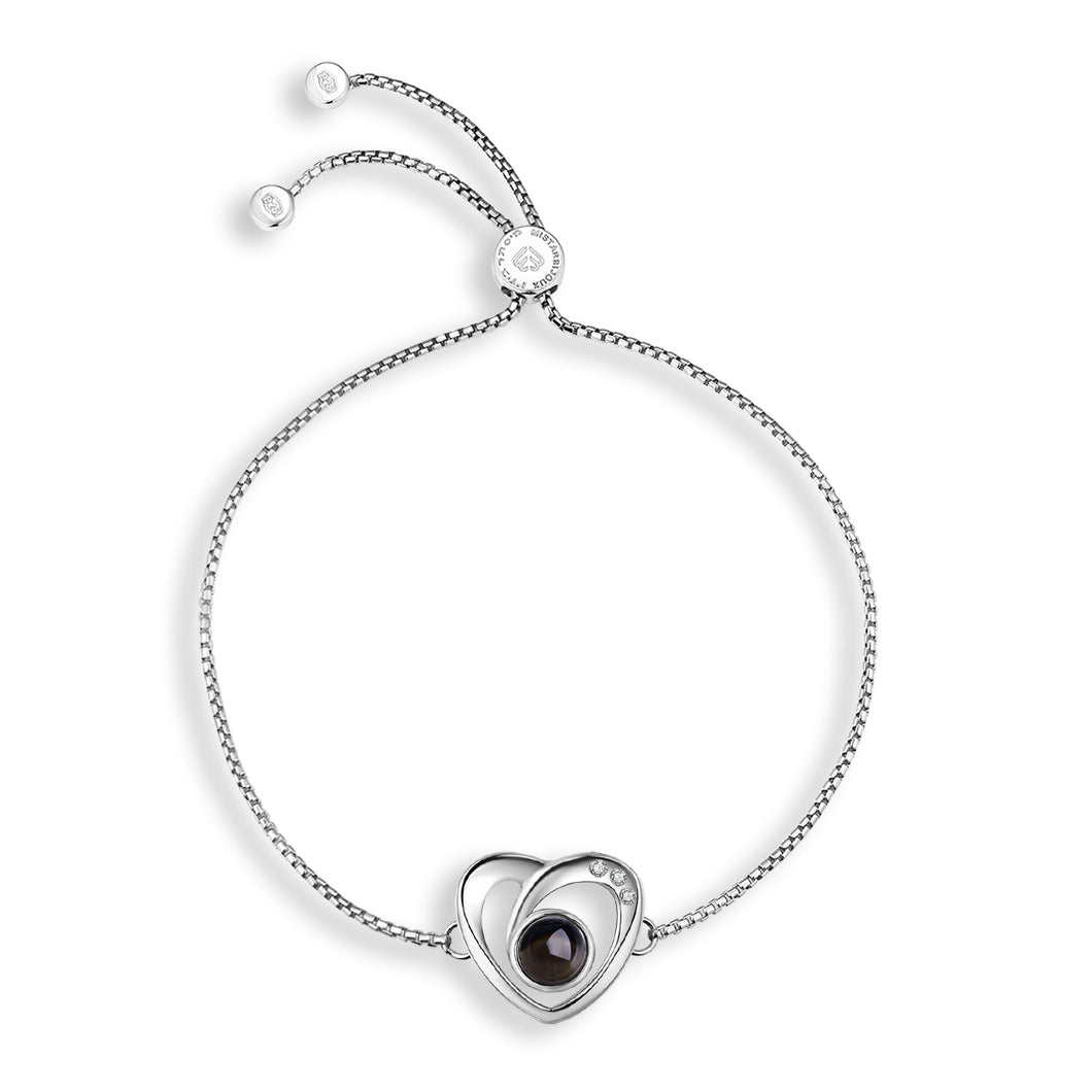 Mistar Bijoux Stanhope Jewelry Diamond Accent Heart Bracelet