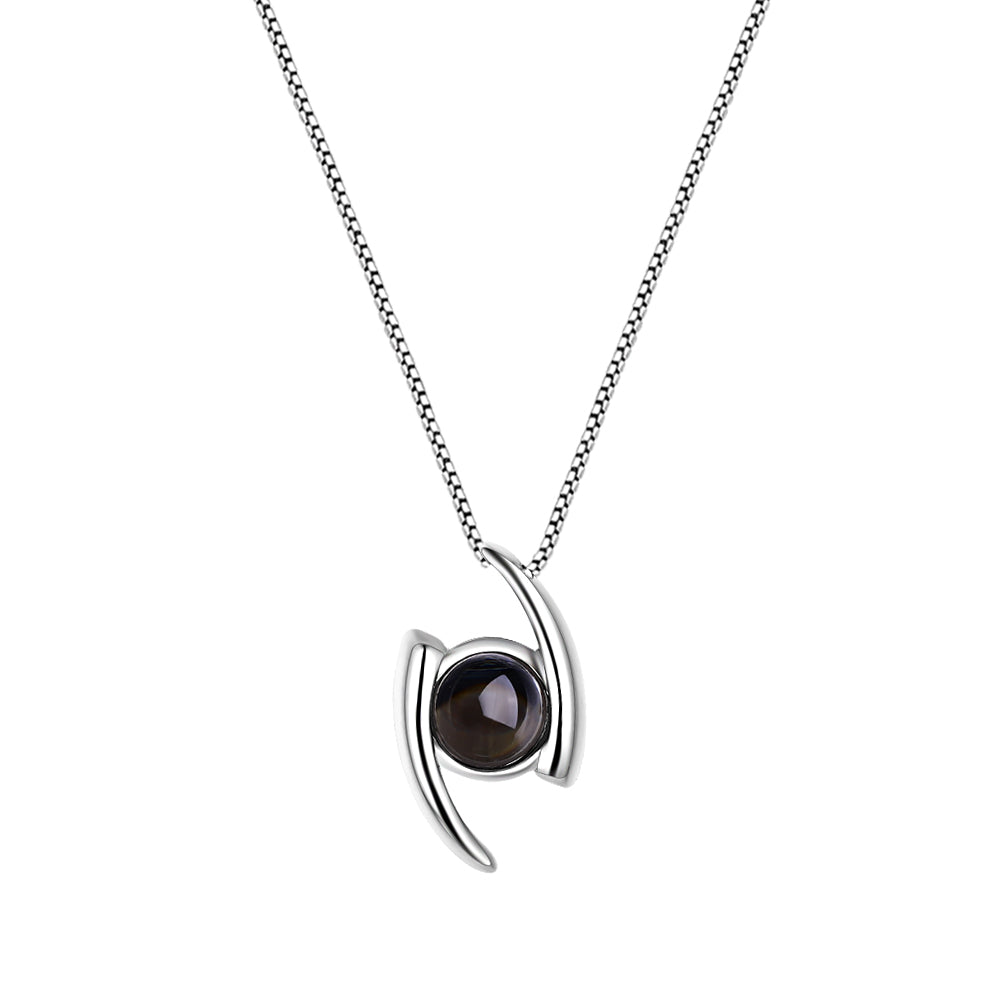 Mistar Bijoux Stanhope Jewelry Abstract Eye Pendant
