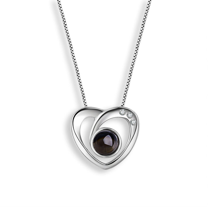 Mistar Bijoux Stanhope Jewelry Diamond Accent Heart Pendant