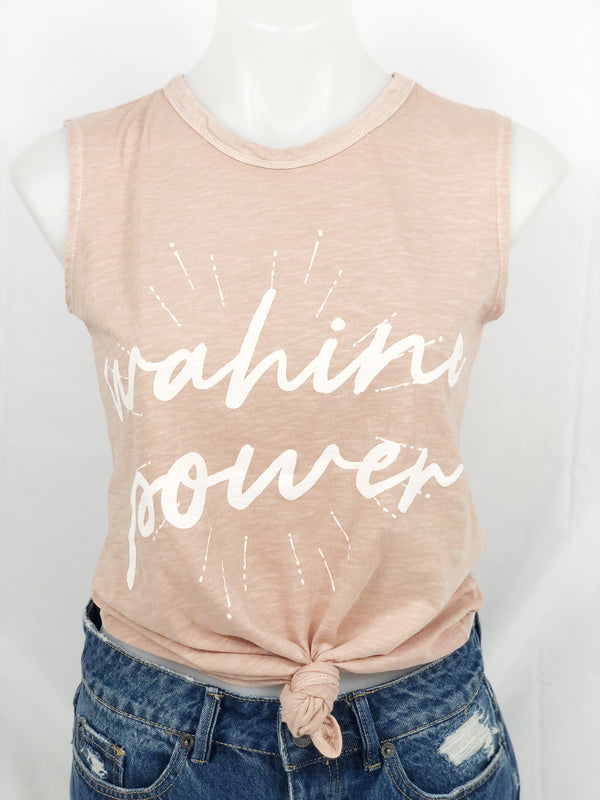 Salt + Sea Wahine Power Muscle Tee