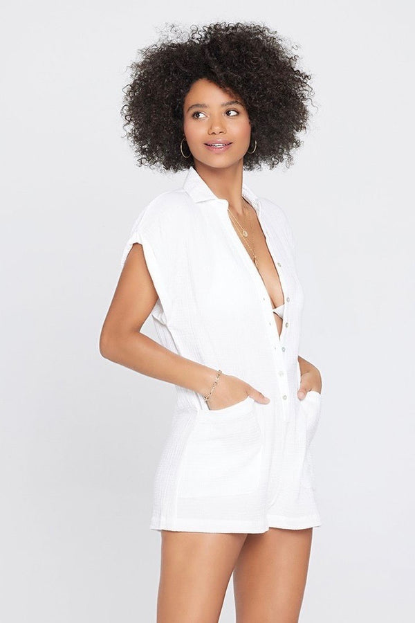 L*Space Mika Romper - White