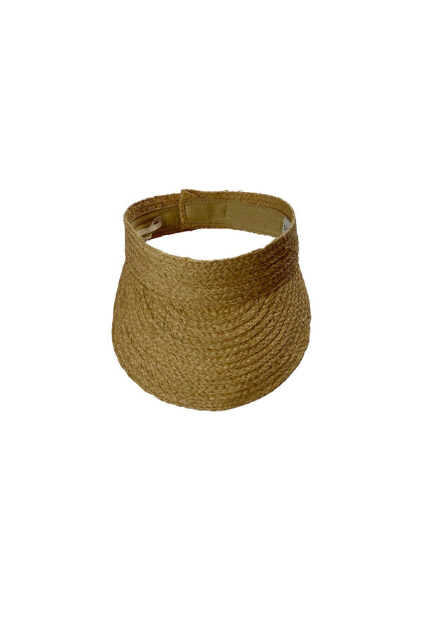 Salt + Sea Straw Visor
