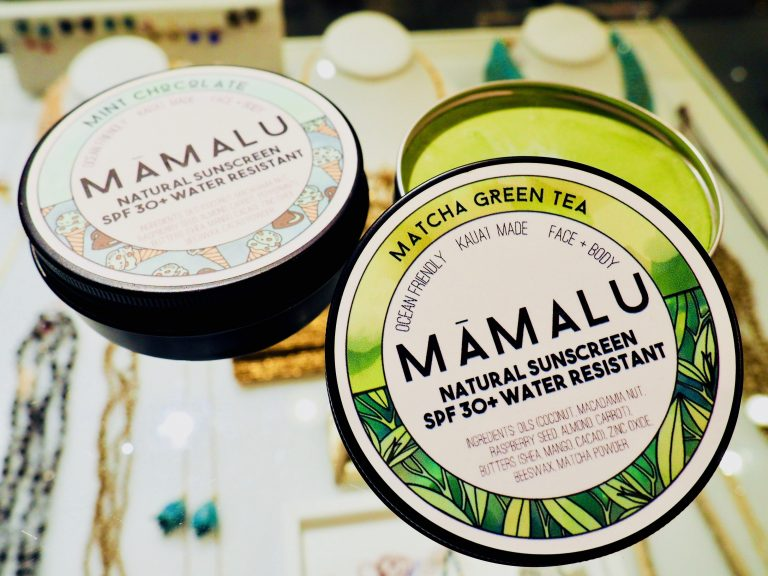 Māmalu Natural Sunscreen SPF 30 Mint Chocolate