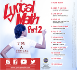 Lyrical Math Pt. 2 CD
