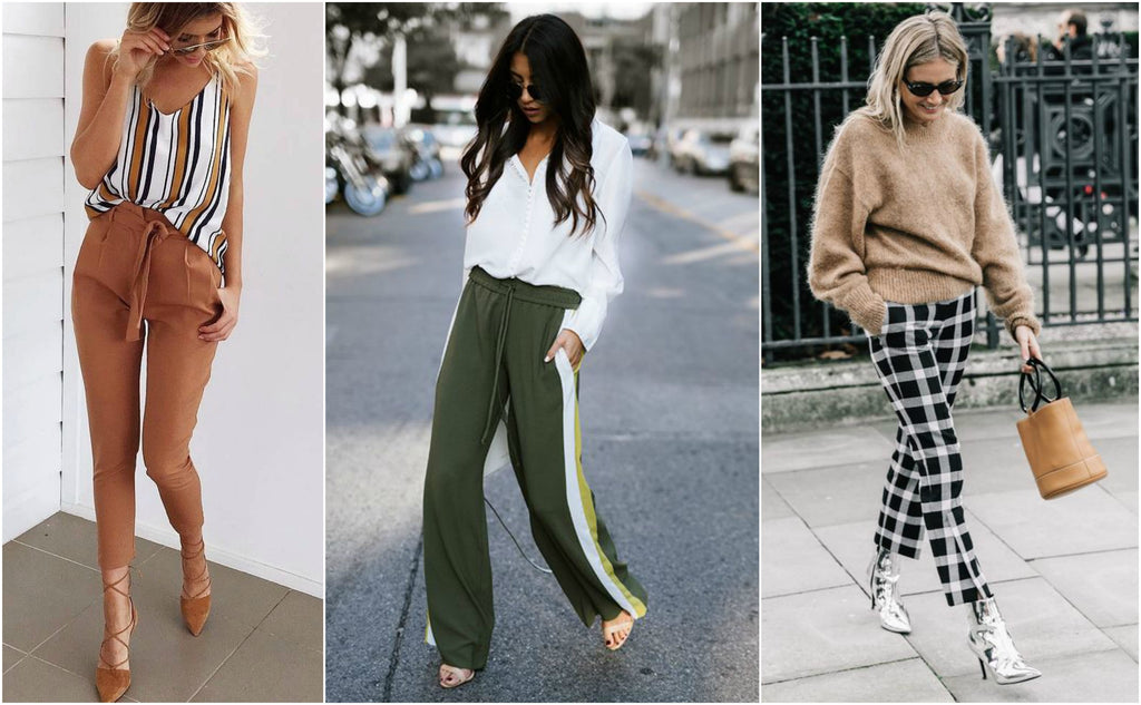 joggers y pantalones outfits