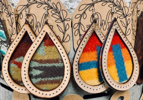 Pendleton Earrings - The GyPsY Barn Boutique