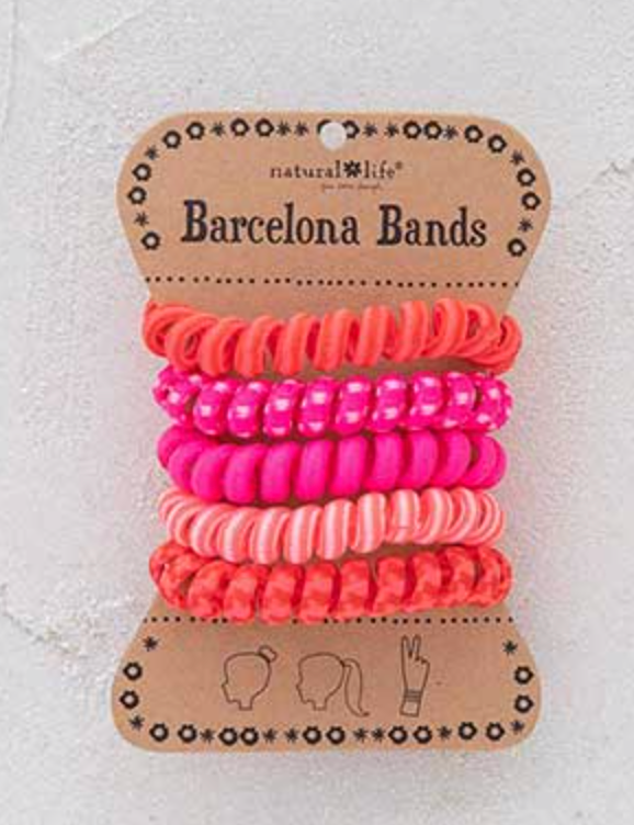 Barcelona Bands Pink - The GyPsY Barn Boutique
