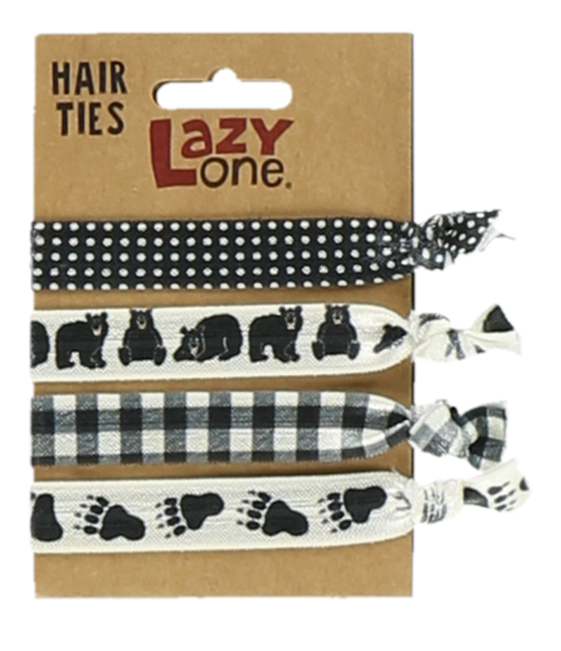 Black Bear Hair Ties