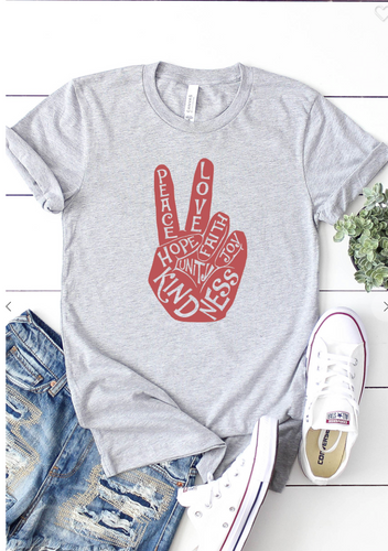 Peace Love Kindness Tee