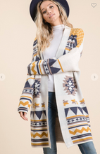 Long Aztec Sweater