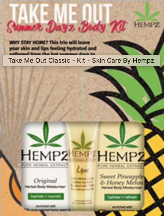 Hempz Take Me out Classic Kit