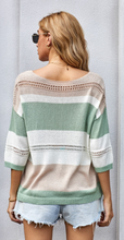 LS Loose Casual Knit Olive