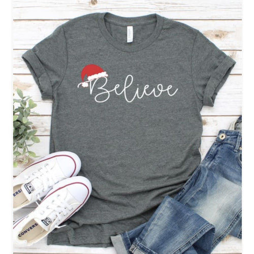 Believe Tee - Small - Top