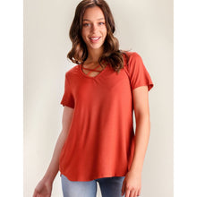Burnt Orange Top - The GyPsY Barn Boutique