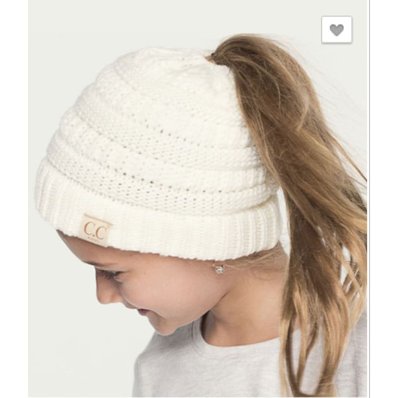 CC Kids Messy Bun - The GyPsY Barn Boutique