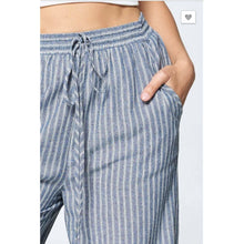Denim Blue String Pants - The GyPsY Barn Boutique