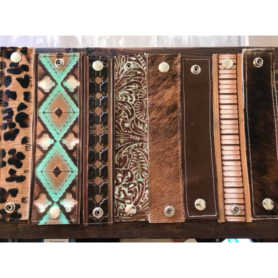 Leather Cuff Bracelets - The GyPsY Barn Boutique