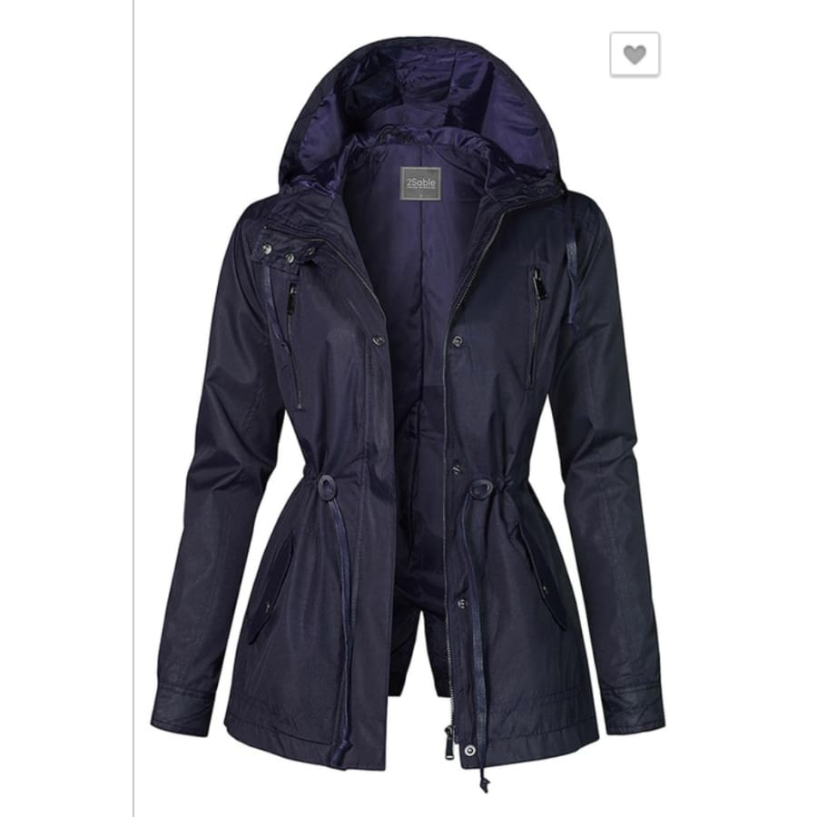 Navy Anorak Jacket - The GyPsY Barn Boutique