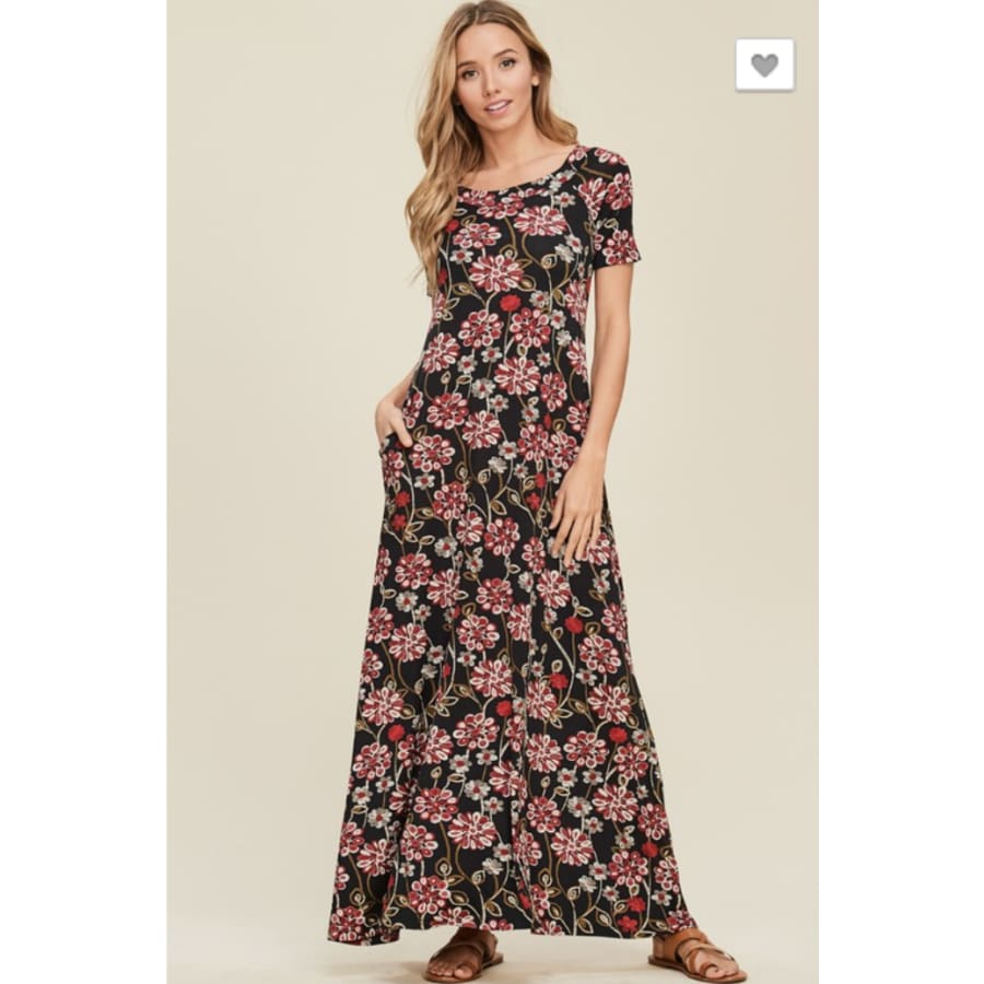 Scoop Neck Maxi - The GyPsY Barn Boutique