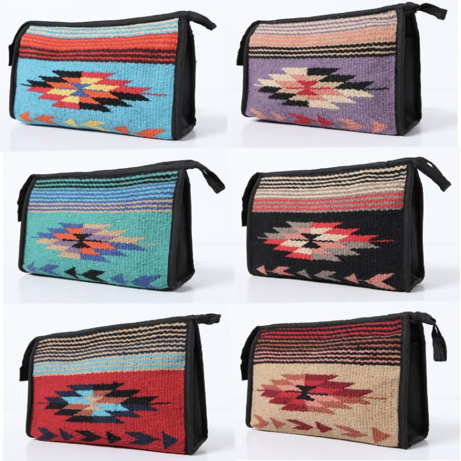 Southwest Make Up Bag - The GyPsY Barn Boutique